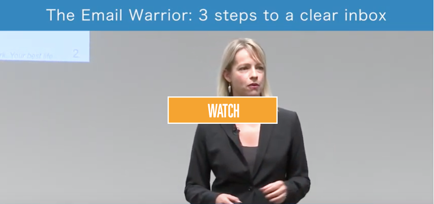 The Email Warrior: 3 steps to a clear inbox