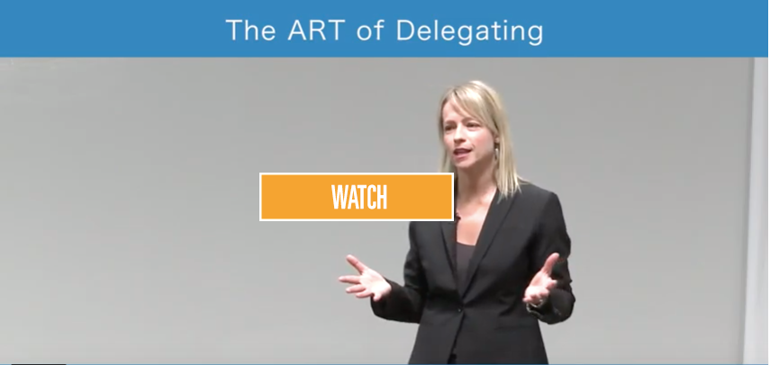 The ART of Delegating