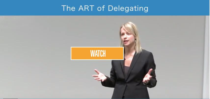 The ART of Delegating