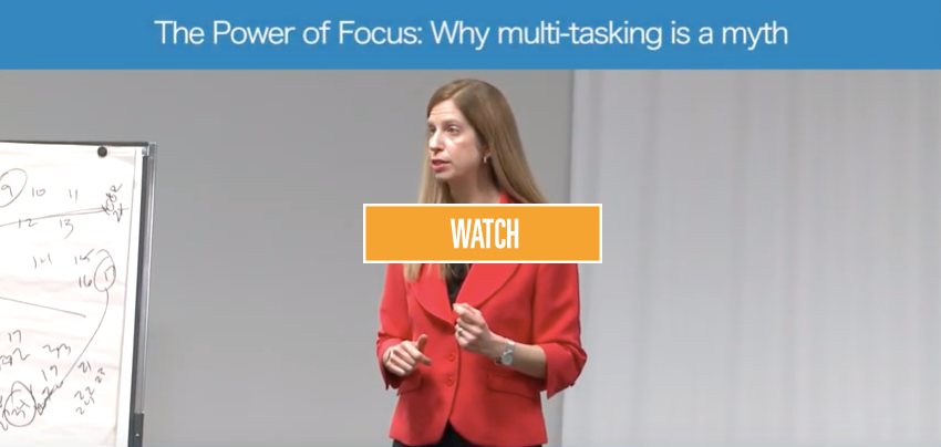The Power of Focus: Why multi-tasking is a myth