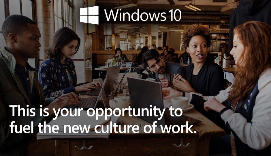 Enhanced Productivity with Windows 10