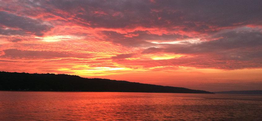 Autumn Sunset Cruise Ithaca Boat Tours