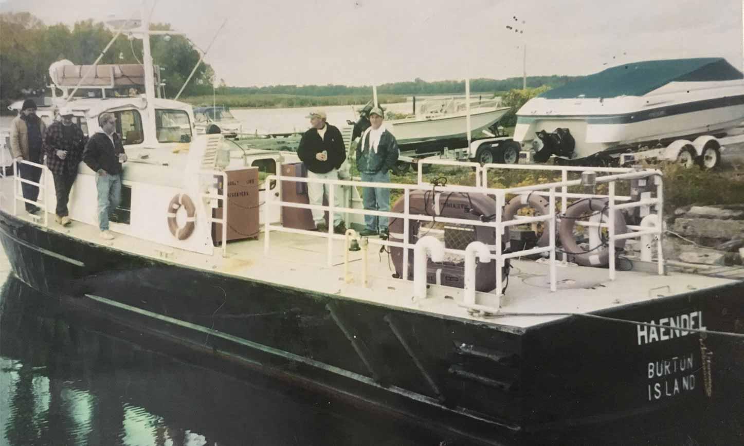 MV Haendel Lake Champlain