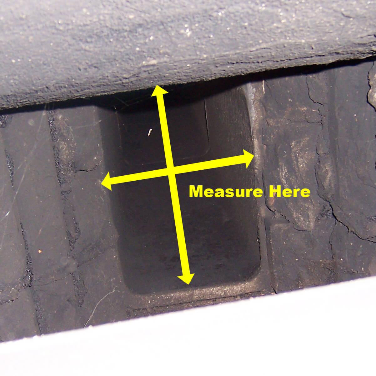 Chimney Flue Tile Measurement