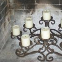 Fireplace candles