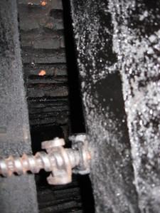 Stuck fireplace damper