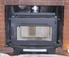 Fireplace wood burning