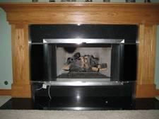 Majestic fireplace