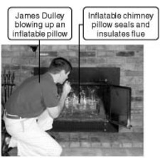 Chimney Pillow
