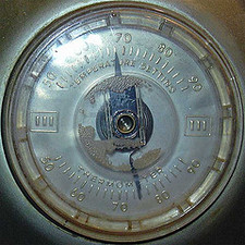 thermostat dial