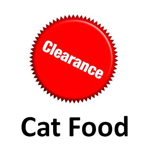 Clearance Cat Food
