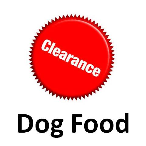 Clearance Dog Food