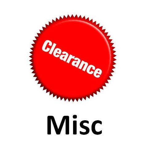 Clearance Misc