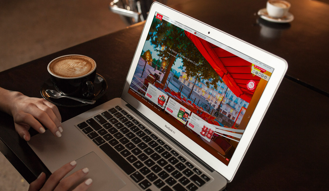 Melitta Website Design