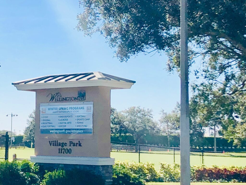 wellington florida parks and rec