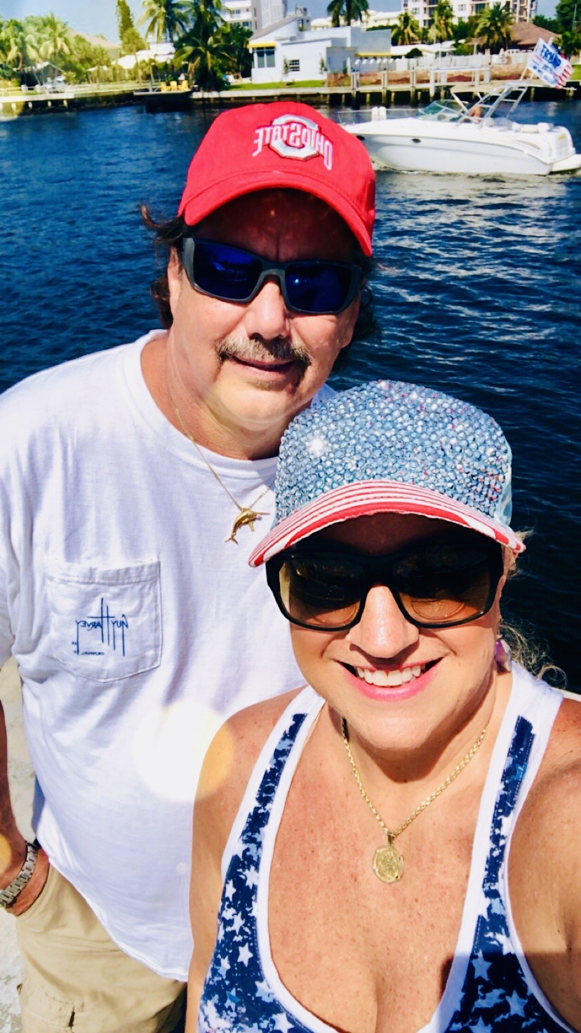 Andy and Michele Fourth of July 2019