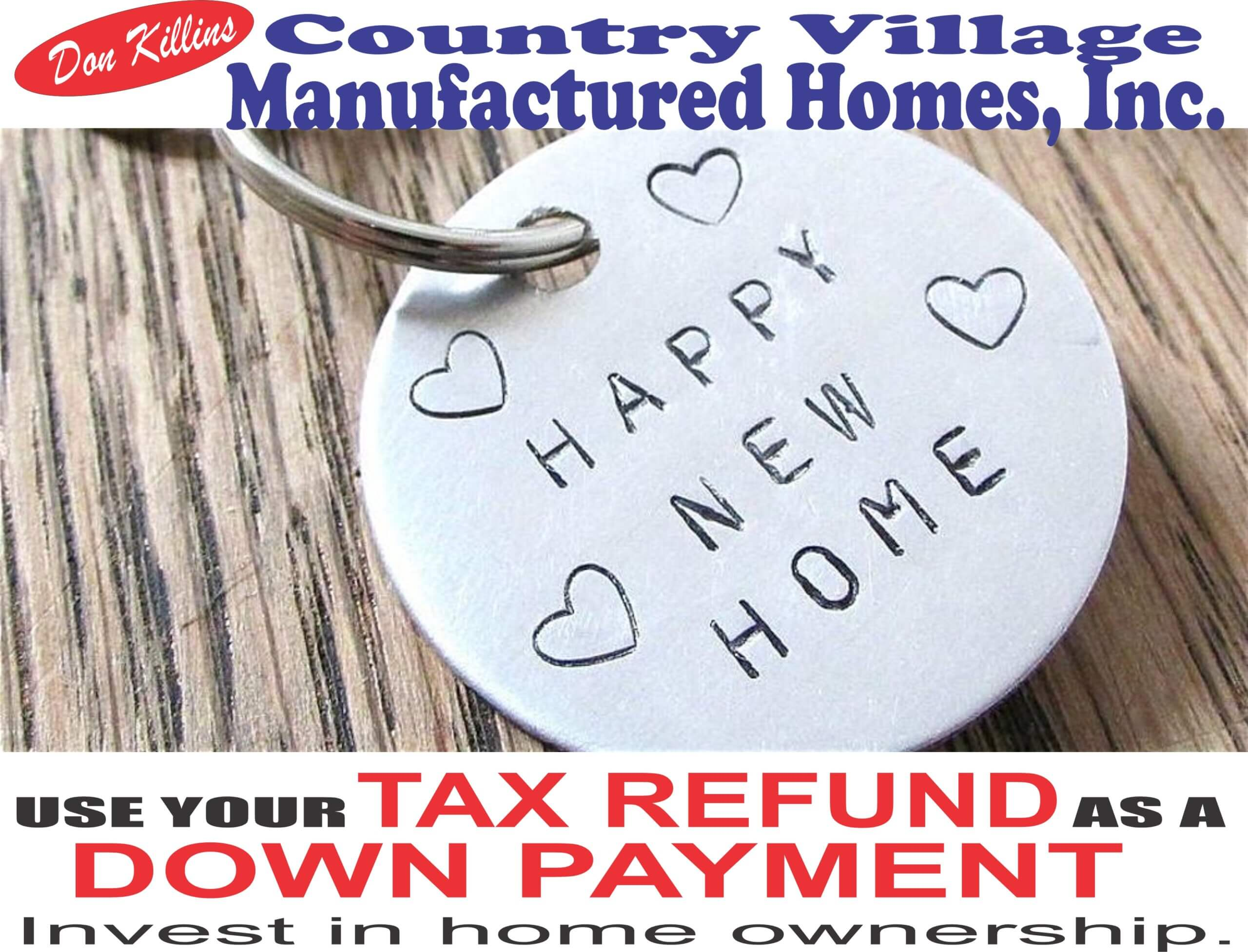 Use your tax refund as a down payment 02-01-2020