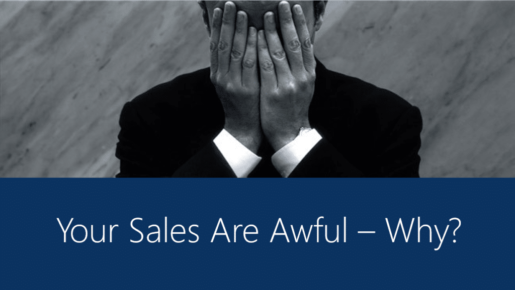 Marketing and Sales are Awful image