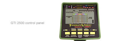 Garrett GTI 2500 control panel
