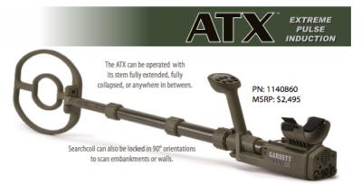 Garrett ATX detector