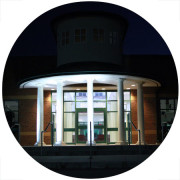 Providing Exterior Lighting both Functional and Decorative at the Ware County High School Georgia