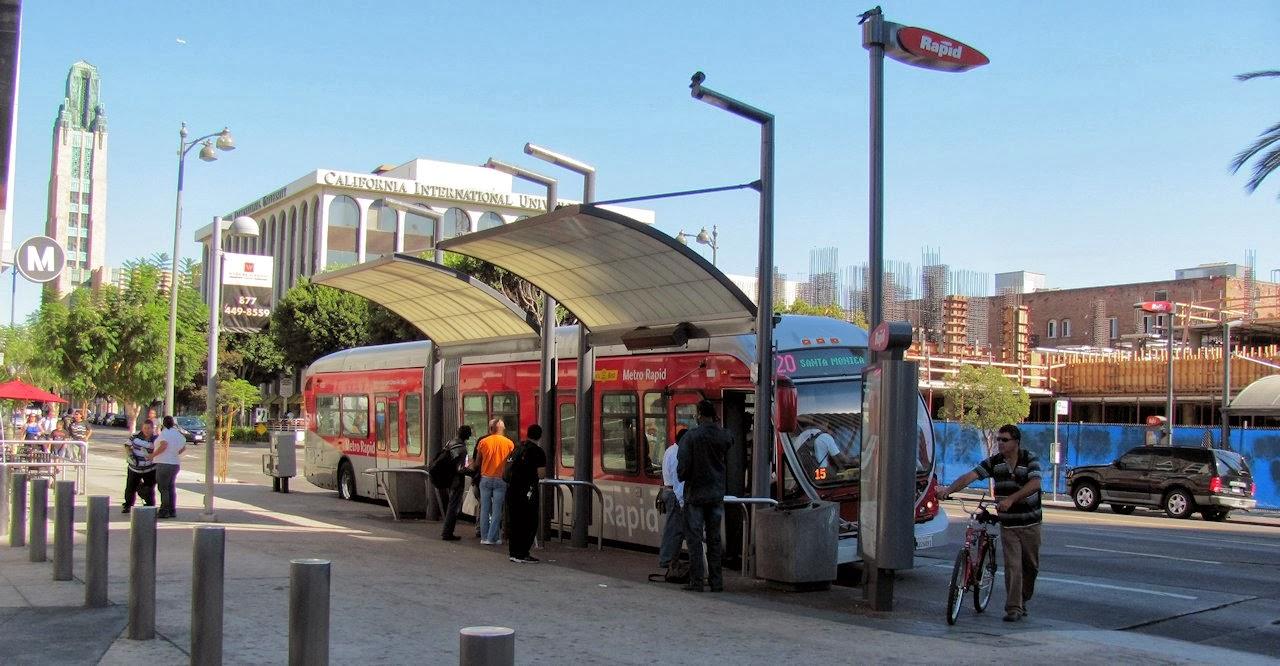 LA Metro Rapid Station Design and Implementation