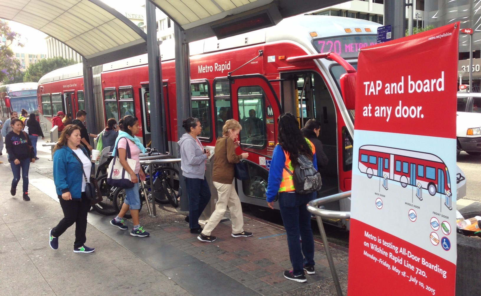 Los Angeles Metro Rapid BRT