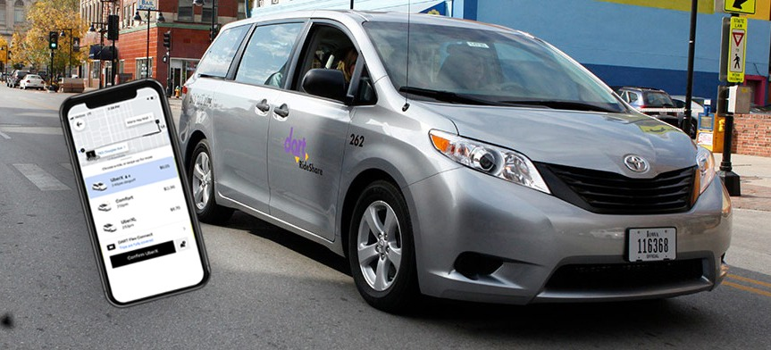 Flex Connect TNC/Taxi Des Moines DART Forward 2035