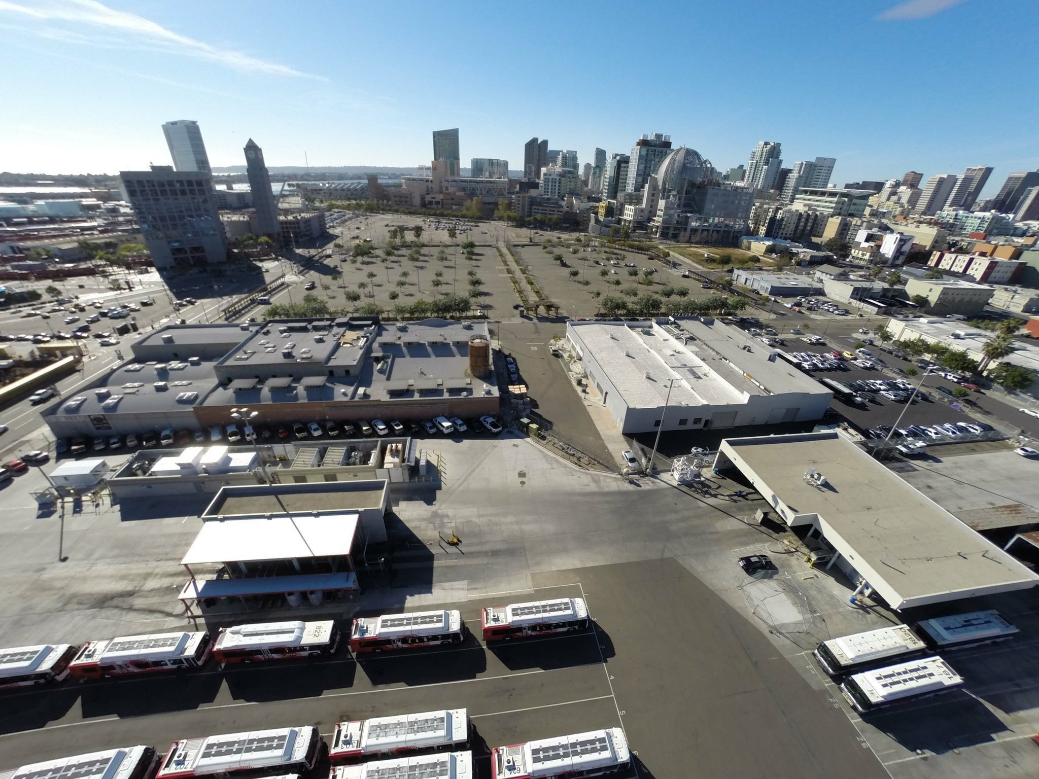 San Diego MTS Operating Facility Location Optimization