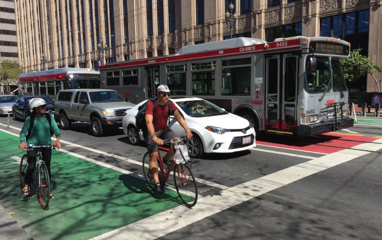 SFMTA Muni Forward Transit Effectiveness Project
