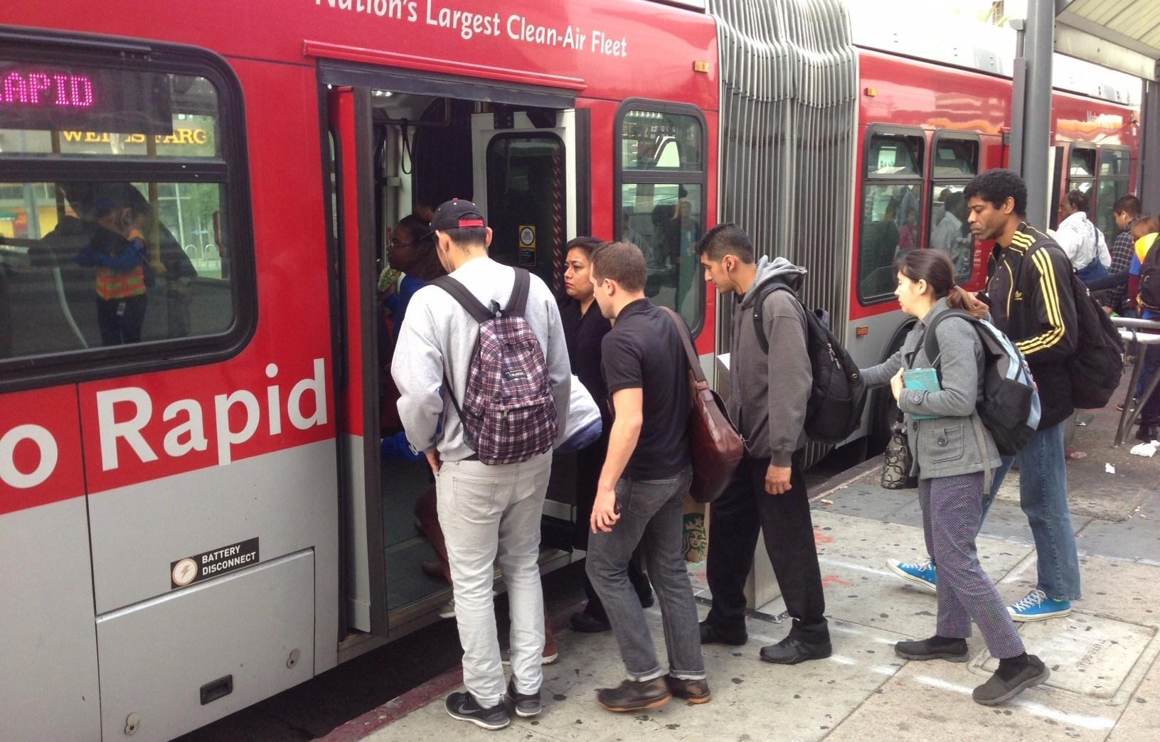 LA Metro Rapid Operating Protocol and Implementation Optimization