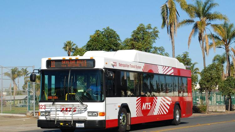 San Diego MTS Contractor Scheduling (Transdev)