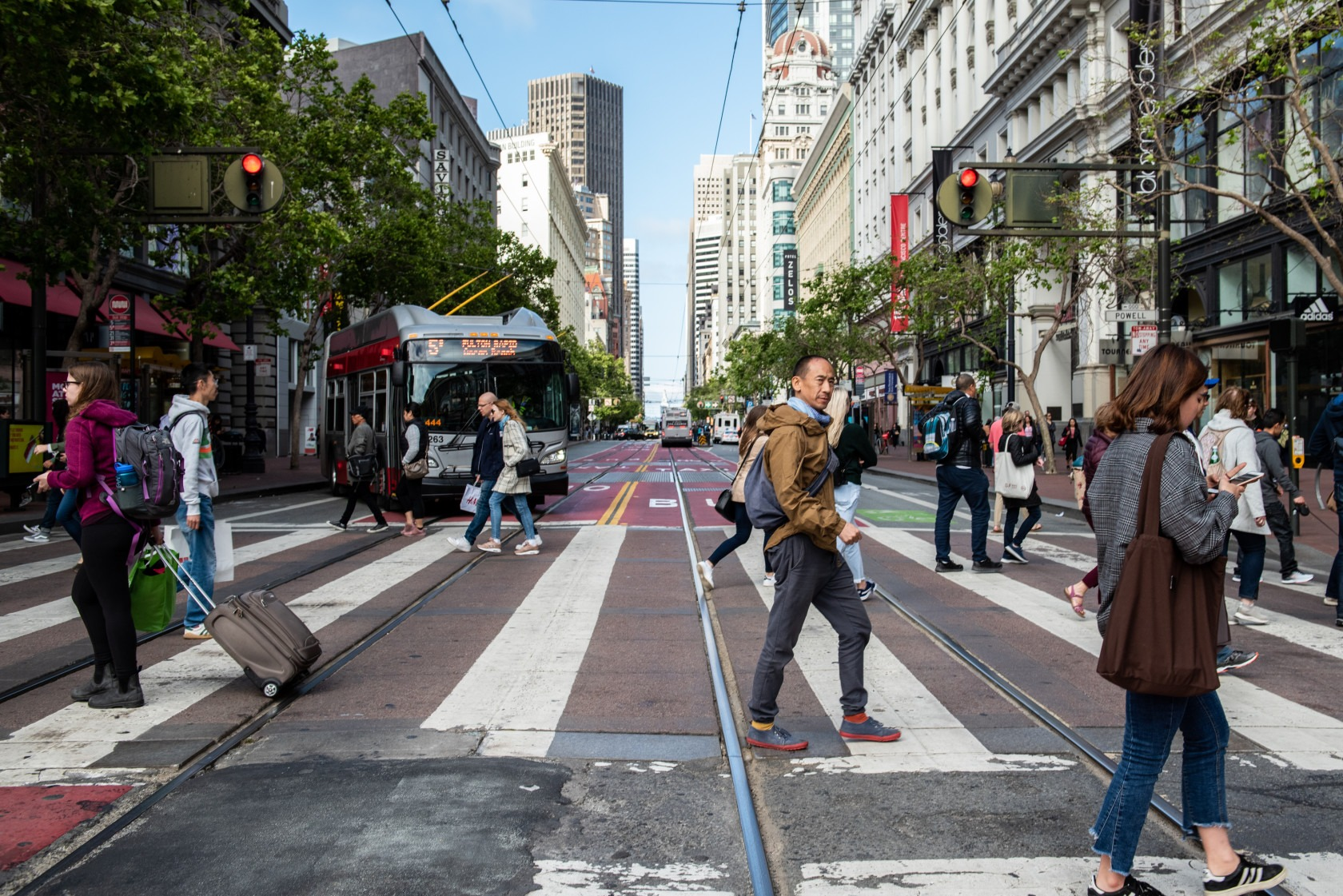Why San Francisco Is Putting Pedestrians First on Its Main Thoroughfare