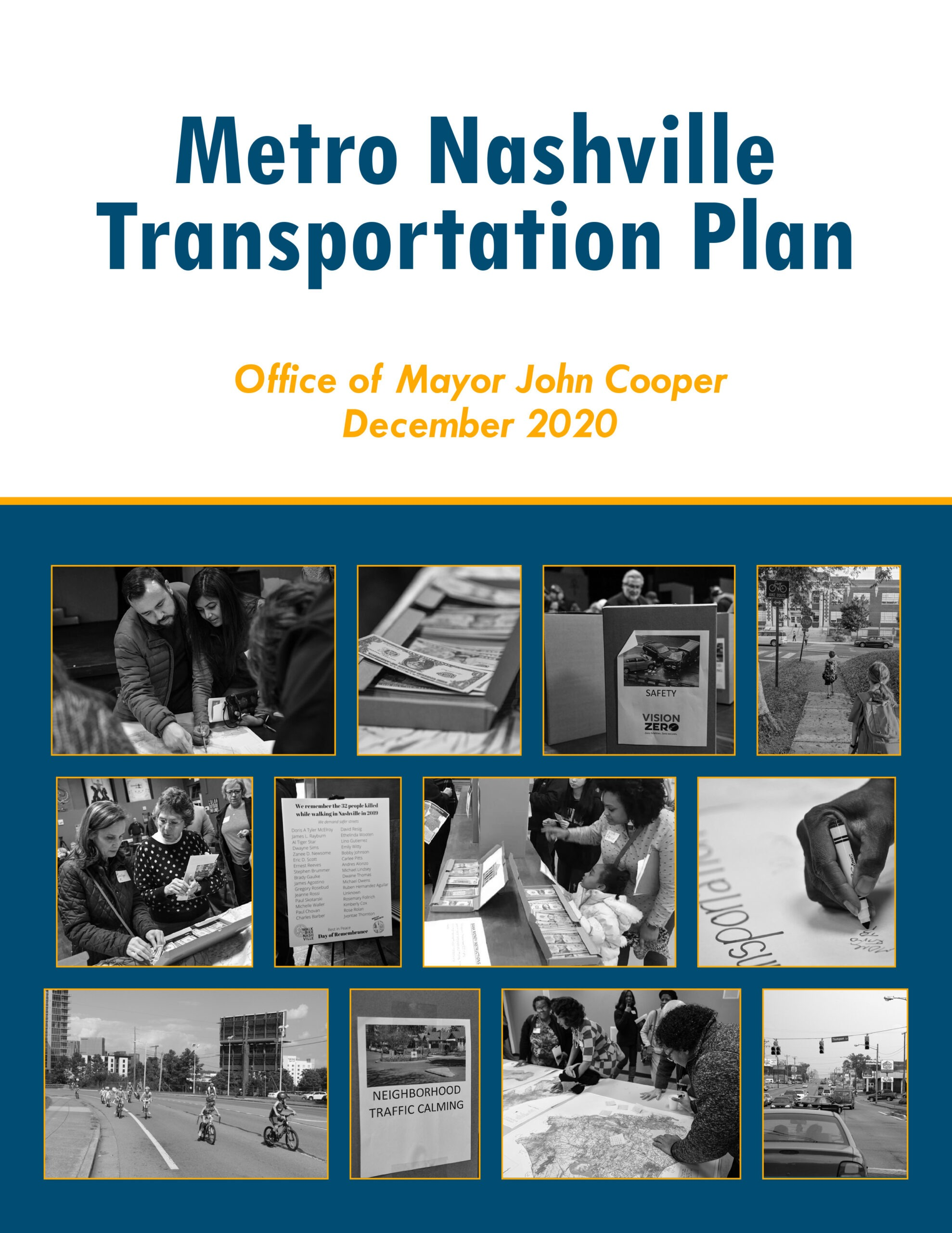 The Office of Mayor John Cooper Released the Metro Nashville Transportation Plan