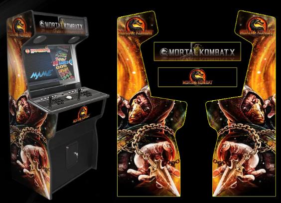 Mortal Kombat X Arcade machine