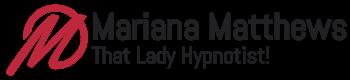 Mariana Mathews Stage Hypnosis Show Logo