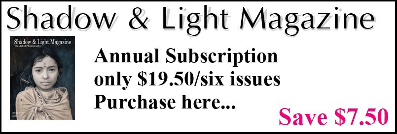 Shadow & Light Magazine Subscription