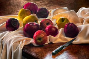 Eleven Apples After Cezanne • ©Kay Beausoleil