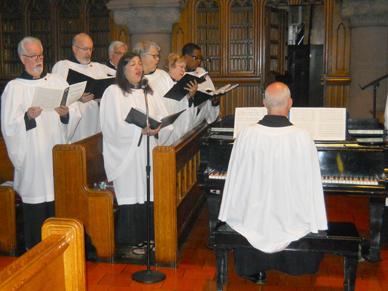 Music at St. John's Block