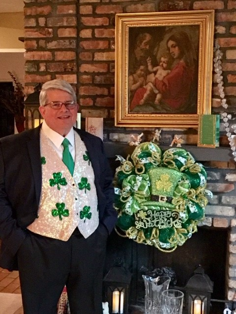 60th Annual Houston St. Patrick's Parade Grand Marshal, Pat Duane
