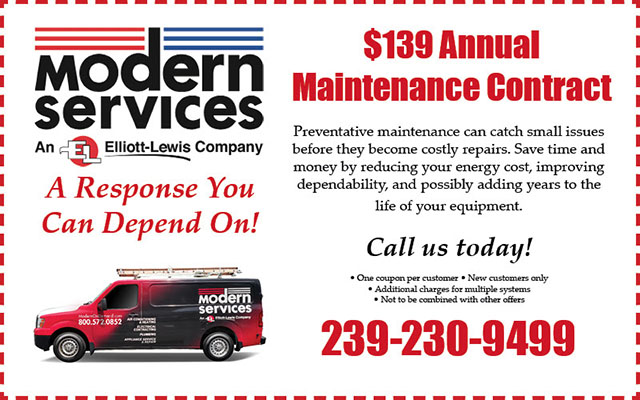 $139 Annual Maintenance Contract