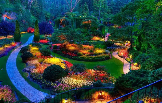 Butchart Gardens victoria BC canada