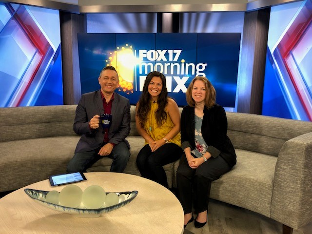 Reunification Day on Fox 17 Morning Mix