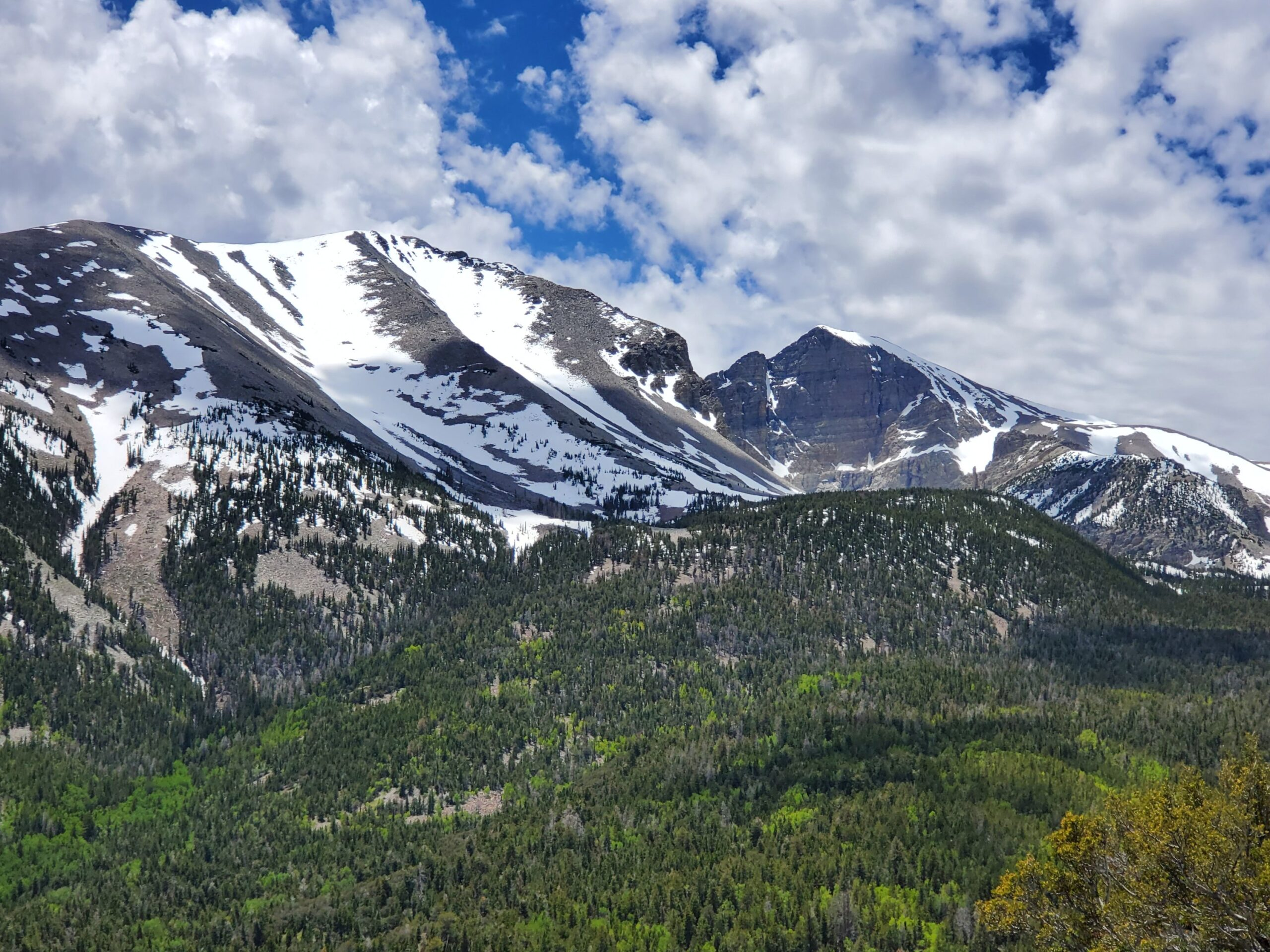 Wheeler Peak in Great Basin N.P.
