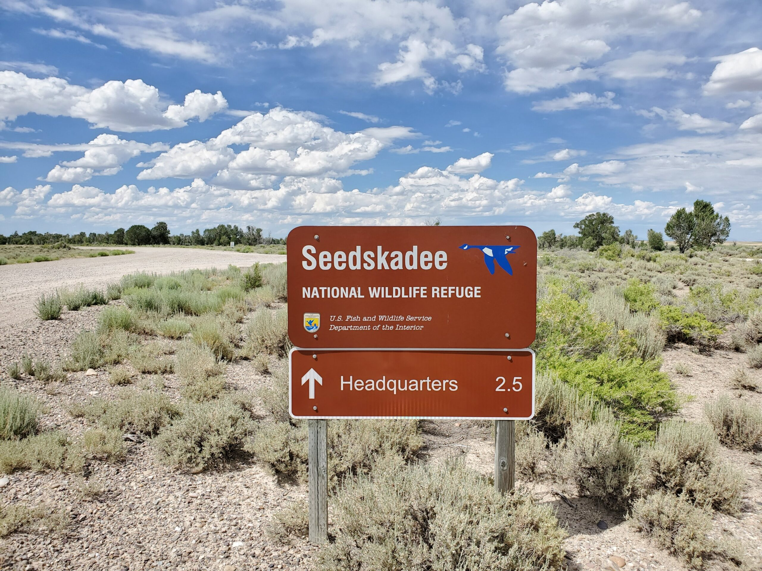 Seedskadee NWR Sign