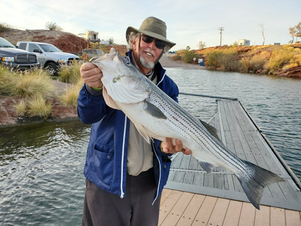 D.A. with largest Striper of 2019/20 Season