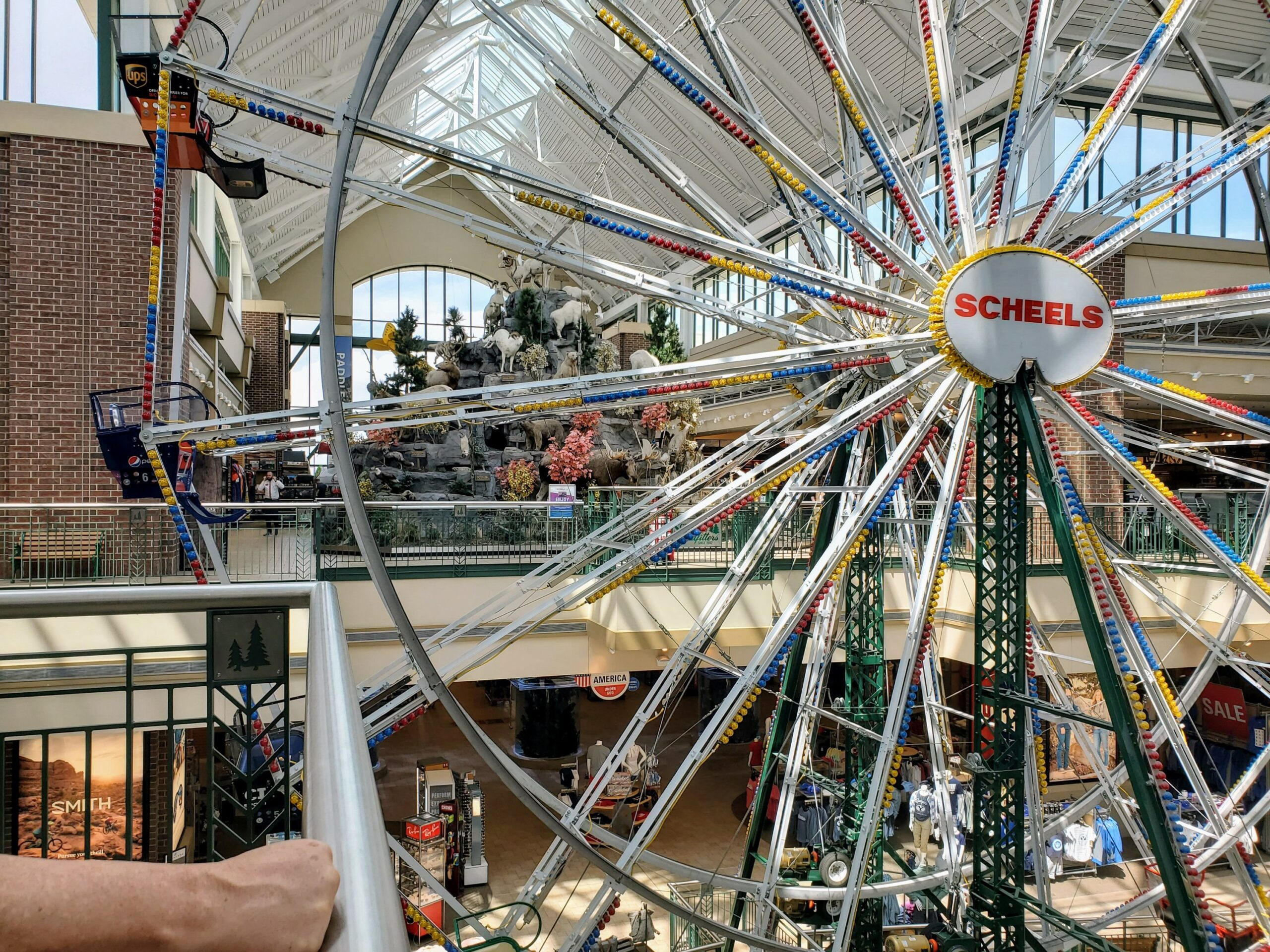 Ferris Wheel in Scheels, Draper, UT