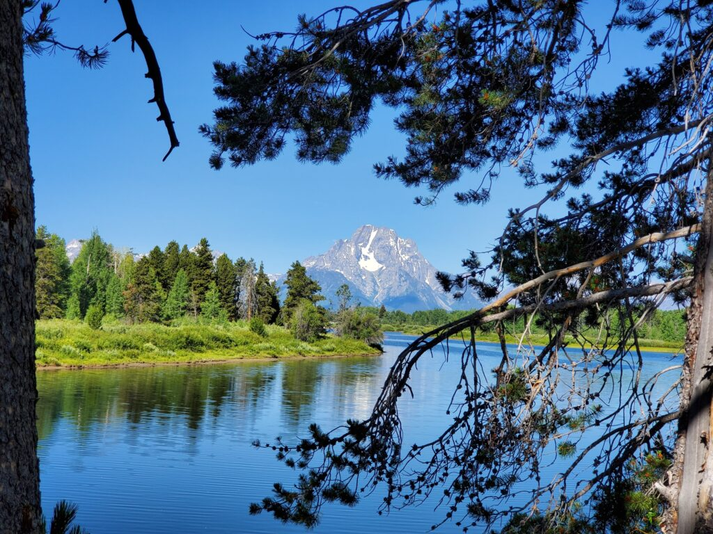 Mt. Moran, Grand Teton NP