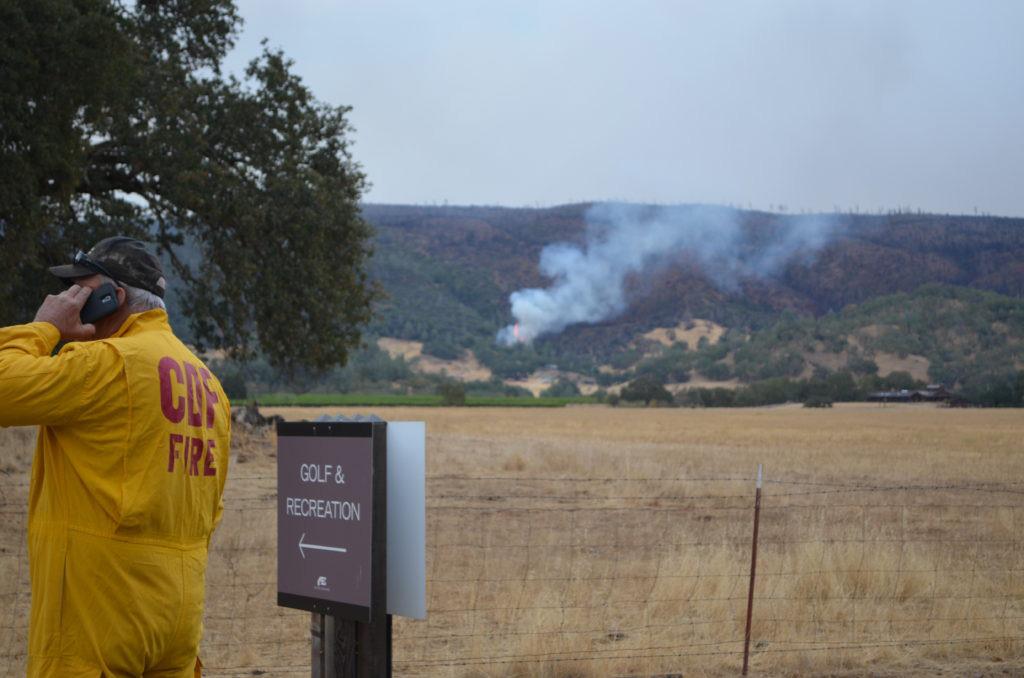 NapaCART Communication, photo of Napa County OES responder