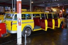 Checker limo at NATMUS MUSEUM